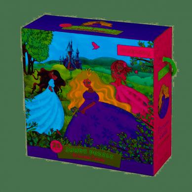 Mudpuppy Puzzle Jumbo 25 Elementów Zamek Księżniczki 2+