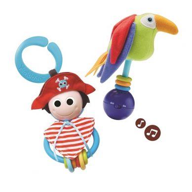 Yookidoo - Muzyczny Zestaw Grzechotek Pirat