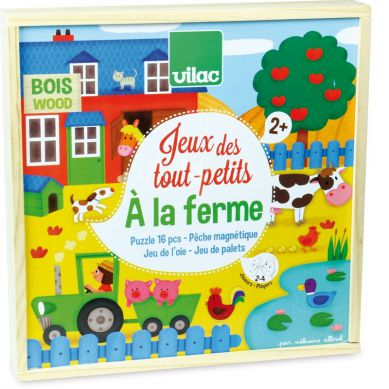 Vilac - Gra dla Dwulatka na Farmie