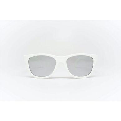 Babiators  - Navigotor Wicked White Mirrored Lenses 7-14 lat