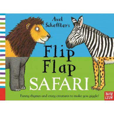 Wydawnictwo Usborne Publishing - Flip Flap Safari
