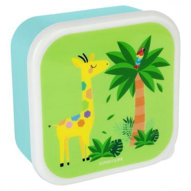 Sunnylife - Zestaw Pudełek na Przekąski Safari