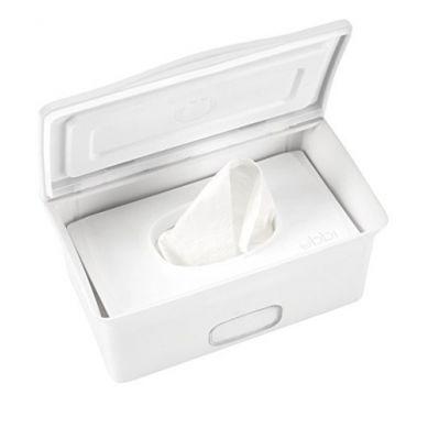 Ubbi - Pudełko na Chusteczki Mokre/suche Białe