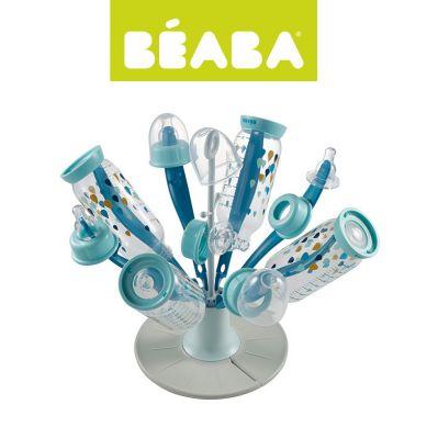 Beaba - Składana Suszarka do Butelek i Smoczków Kwiat Blue