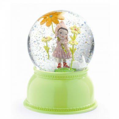 Djeco - Lampka Kula Śnieżna Dziewczynka