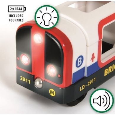 BRIO - World Metro Światła i Dźwięk