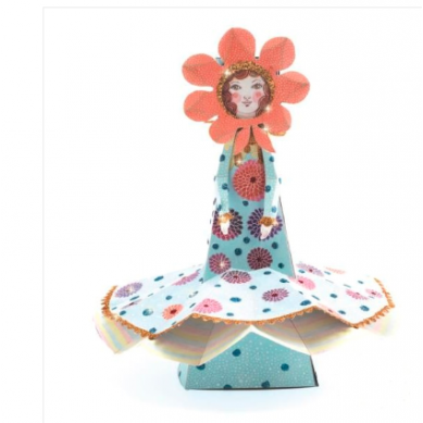 Djeco - Zestaw do Składania Miss Bloom