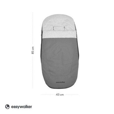 Easywalker - Śpiworek do wózka na zimę Stone Grey