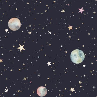 Dekornik - Tapeta Kosmos Podróż przez Galaktykę