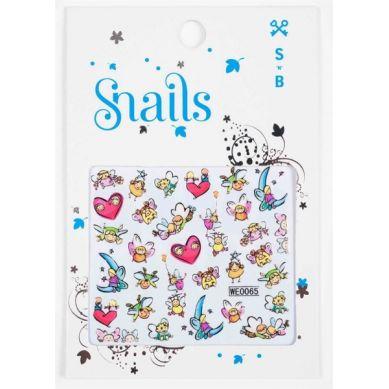Snails - Naklejki na Paznokcie Story Telling