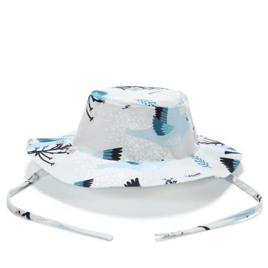 La Millou - Safari Hat Blue Birds Vivid