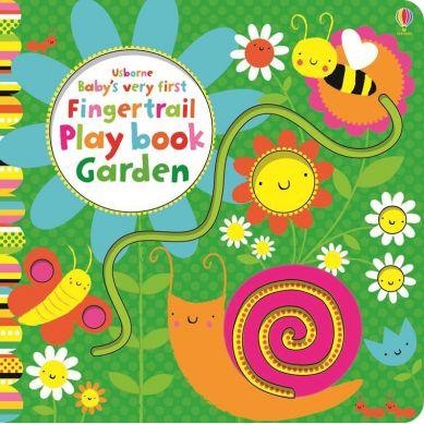 Wydawnictwo Usborne Publishing - Baby's very first fingertail playbook garden