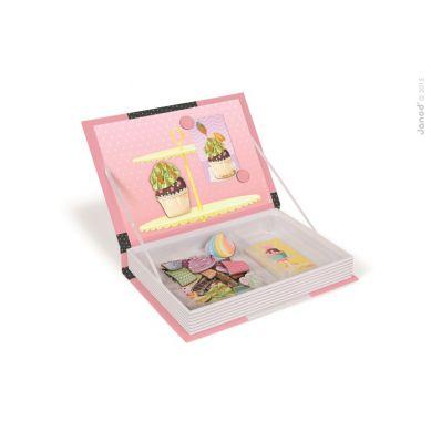 Janod - Magnetyczne Pudełko Babeczki