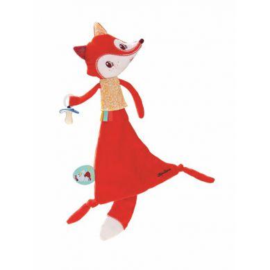 Lilliputiens - Kocyk Przytulanka w Pudełku Lisica Alice