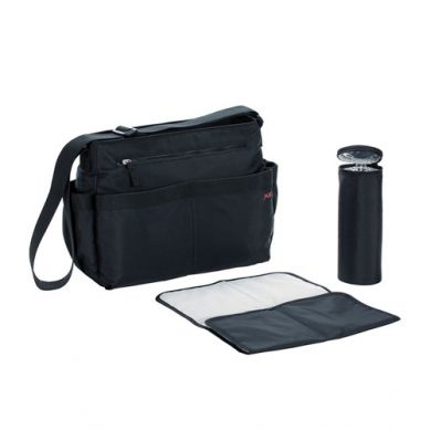 Lassig - Marv Torba z Akcesoriami Shoulder Bag Black