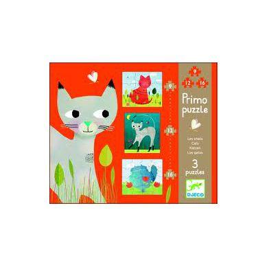 Djeco Puzzle dla Dzieci Koty