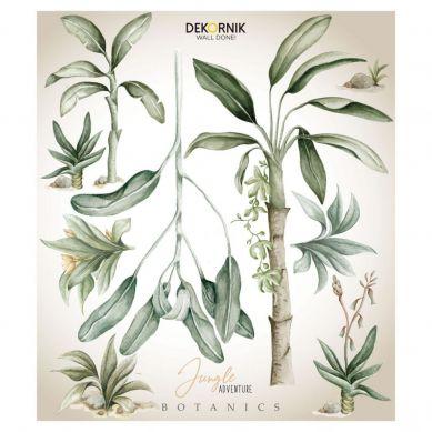 Dekornik - Naklejka Ścienna Jungle Botanics Plansza do Zwierzaków L