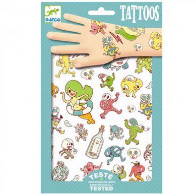 Djeco - Tatuaże Zwariowany Świat