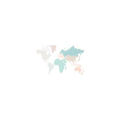 Dekornik - Naklejki Ścienne Mapa 2 120x70cm