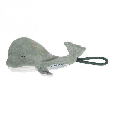 Little Dutch - Zawieszka do Smoczka Wieloryb Ocean Mięta 0m+