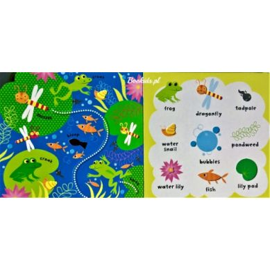 Wydawnictwo Usborne Publishing - Baby's very first playbook garden words