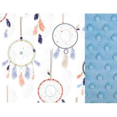 La Millou - Kocyk Narzutka 110x140 cm Dream Catcher White Sky