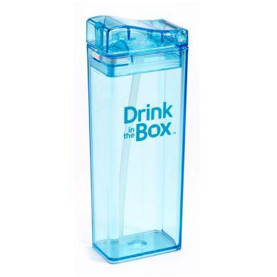 Drink In The Box - Bidon ze Słomką 350ml Blue