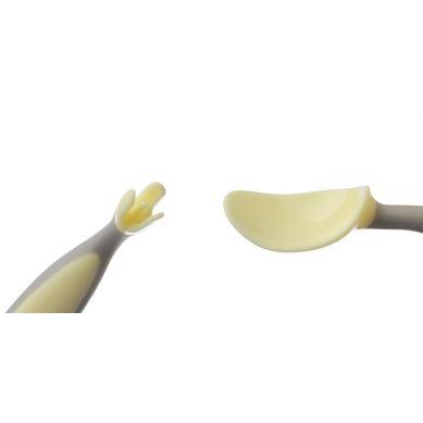 B.Box - Pierwsze Sztućce Dla Niemowląt Gelato Banana Split
