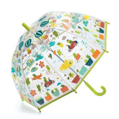 Djeco - Parasol Przeciwdeszczowy Żabki