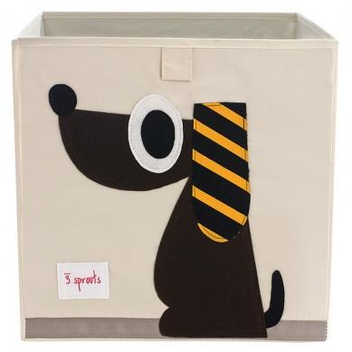 Pudełko na Zabawki Pies 3 Sprouts