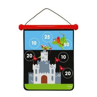 Scratch - Magnetyczne Rzutki M Rycerz i Zamek