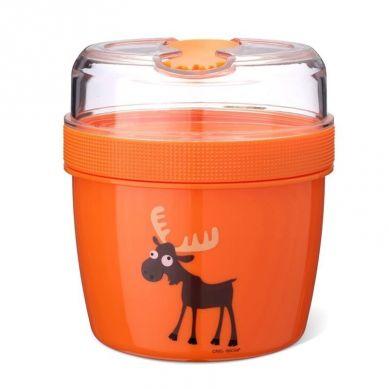 Carl Oscar - N'ice Cup™ L Pojemnik Śniadaniowy z Wkładem Chłodzący Orange Moose