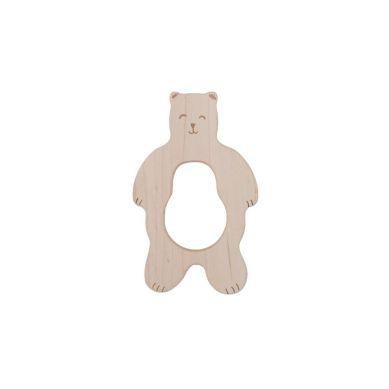 Wooden Story - Drewniany Gryzak Smily Bear