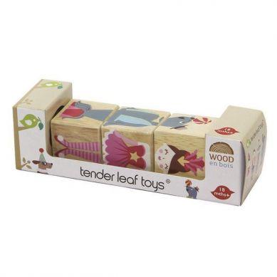 Tender Leaf Toys - Drewniana Układanka Twist Akrobaci 18m+