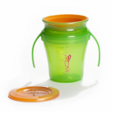 WOW Gear - Juicy Baby Kubek Niekapek 360° Zielony