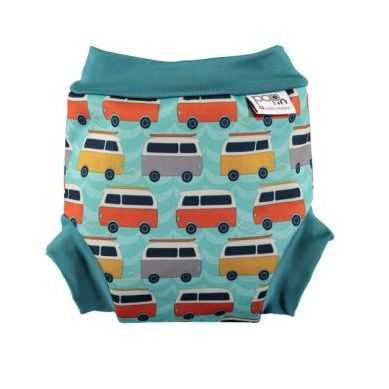 Close - Pieluszka do Pływania Blue/Orange Campervan S