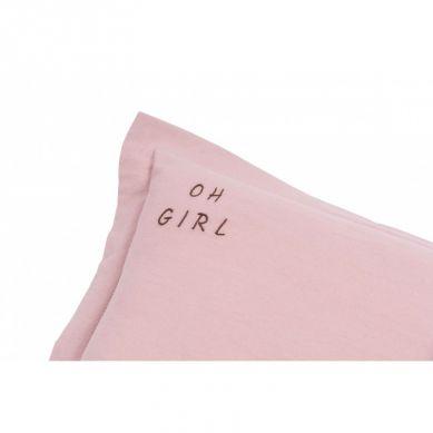 Malomi Kids - Poduszka Oh Girl Washed Pink XL