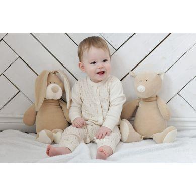 Wooly Organic - Przytulanka Organiczna Classic Bunny Zajączek 23 cm