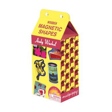 Mudpuppy - Magnesy w Pudełku Andy Warhol 35 elementów