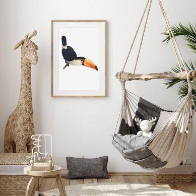 Pastelowelove - Plakat Tukan 20x30 cm