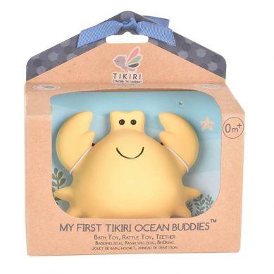 Tikiri - Zabawka Gryzak Krab Ocean w Pudełku 0m+