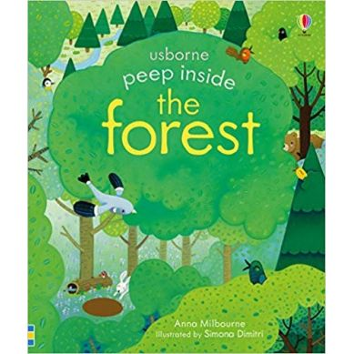 Wydawnictwo Usborne Publishing - Peep inside a forest