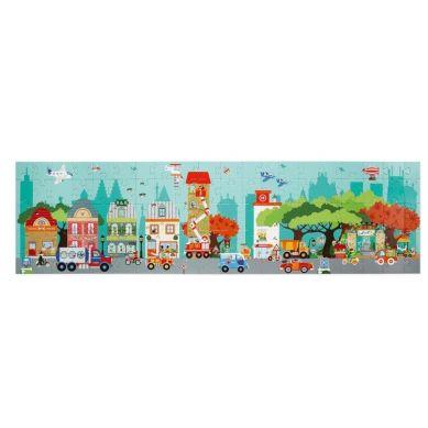 Scratch - Puzzle Podłogowe Miasto 100szt. 5+