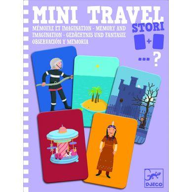 Djeco - Mini Gra Podróżna Memo i Obserwacja Stori 4+