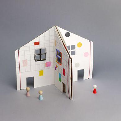 Rock & Pebble - Kolorowanka Domek dla Lalek