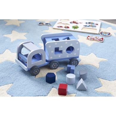 Kids Concept - Sorter Drewniany Samochód