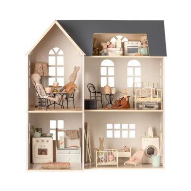 Maileg - Drewinany domek dla myszek i króliczków