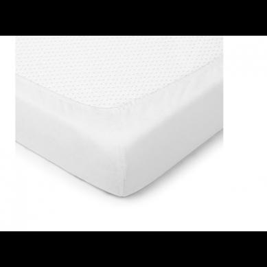 ColorStories - Prześcieradło z gumką White 140x70 cm