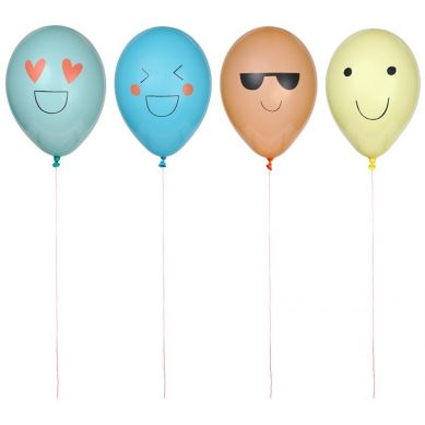 Meri Meri - Zestaw Balonów Emotikony
