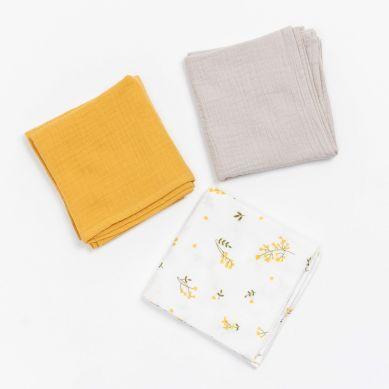 Bim Bla - Pieluszki 3-pack Yellow Mellow